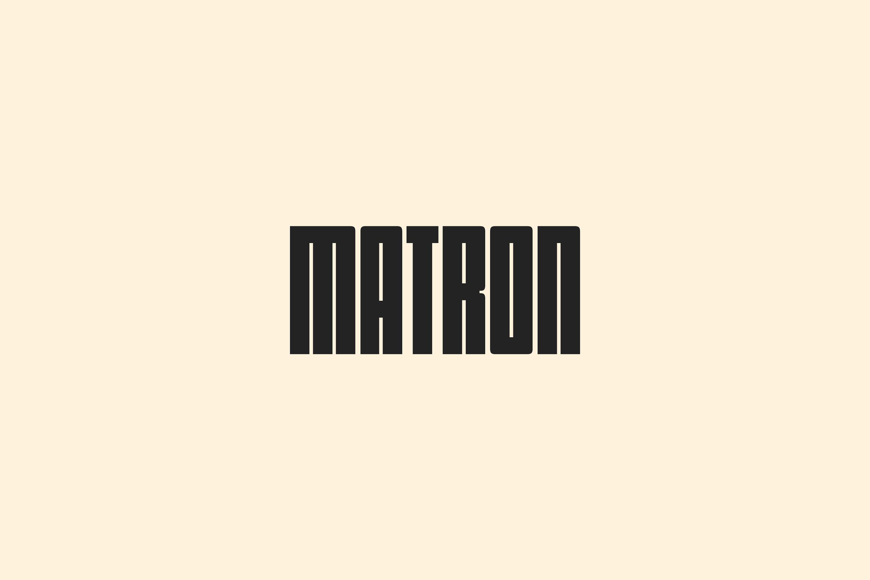 Matron Fine Beers